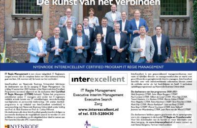 Deelnemers IT Regie en Transformatie 6e leergang Nyenrode ITRM 2021